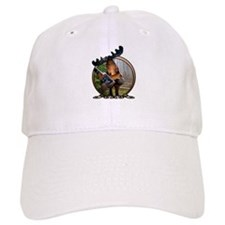 Party Moose Baseball Cap