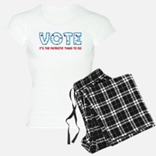 Patriotic Vote pajamas