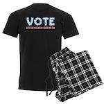 Patriotic Vote Men's Dark Pajamas