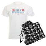 08 Anti-Republican Men's Light Pajamas