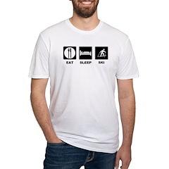 Eat Sleep Ski Shirt