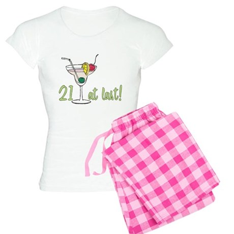 21 at Last B-Day Women's Light Pajamas