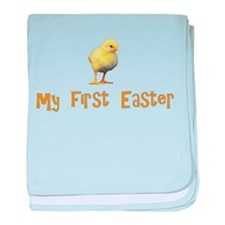 My First Easter - Chick - baby blanket