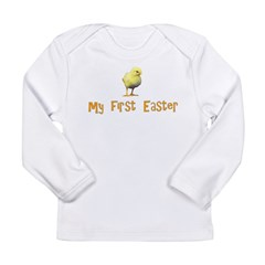 My First Easter - Chick - Long Sleeve Infant T-Shi