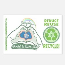 Everyday a Earth Day Postcards (Package of 8)