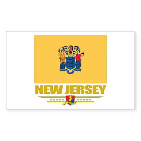 New Jersey Pride Sticker (Rectangle)