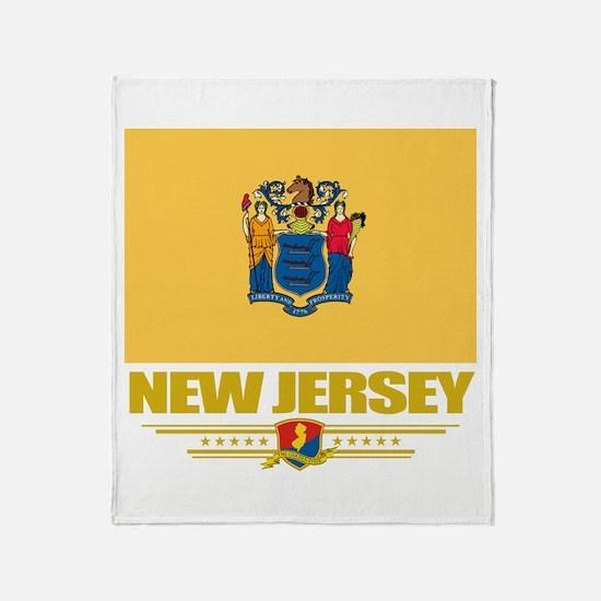 New Jersey Pride Throw Blanket