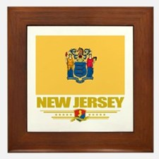 New Jersey Pride Framed Tile