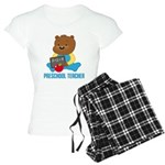 Preschool Teacher Women's Light Pajamas