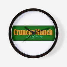 Crunch Munch Wall Clock