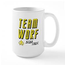 Team Worf Star Trek Mug