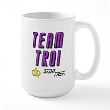 Team Troi Star Trek Mug