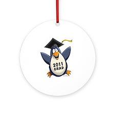 Class of 2011 Penguin Ornament (Round)