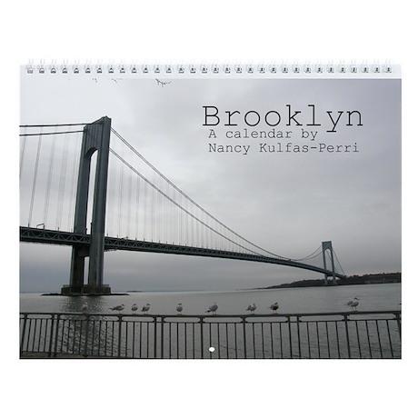 Brooklyn Wall Calendar