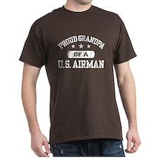 Proud Grandpa of a US Airman T-Shirt