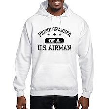 Proud Grandpa of a US Airman Hoodie