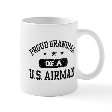 Proud Grandma of a US Airman Mug