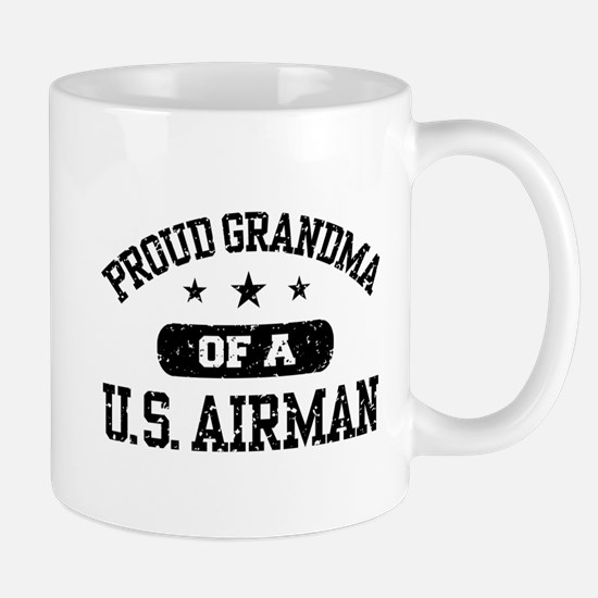 Proud Grandma of a US Airman Mug
