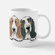 Three Bassets Mug