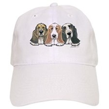 Three Bassets Baseball Cap