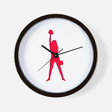 Cheerleader Wall Clock