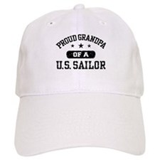 Proud Grandpa of a US Sailor Baseball Cap
