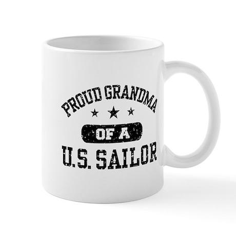 Proud Grandma of a US Sailor Mug