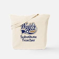 Substitute Teacher Tote Bag