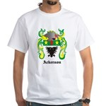 Ackerson Coat of Arms White T-Shirt