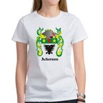 Ackerson Coat of Arms Women's T-Shirt