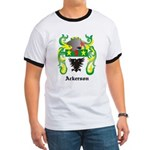 Ackerson Coat of Arms Ringer T
