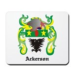 Ackerson Coat of Arms Mousepad