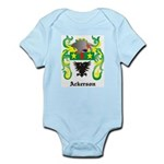 Ackerson Coat of Arms Infant Creeper