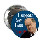 Support Sam Farr campaign button