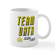 Team Data Star Trek Mug
