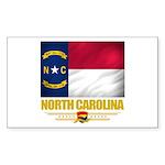 North Carolina Pride Sticker (Rectangle 10 pk)
