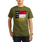 North Carolina Pride Organic Men's T-Shirt (dark)
