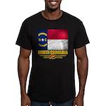 North Carolina Pride Men's Fitted T-Shirt (dark)
