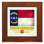 North Carolina Pride Framed Tile