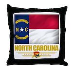North Carolina Pride Throw Pillow