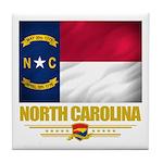 North Carolina Pride Tile Coaster