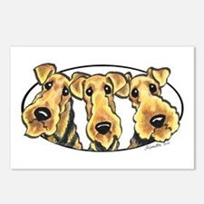 Airedale Terrier Lover Postcards (Package of 8)
