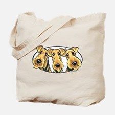 Airedale Terrier Lover Tote Bag