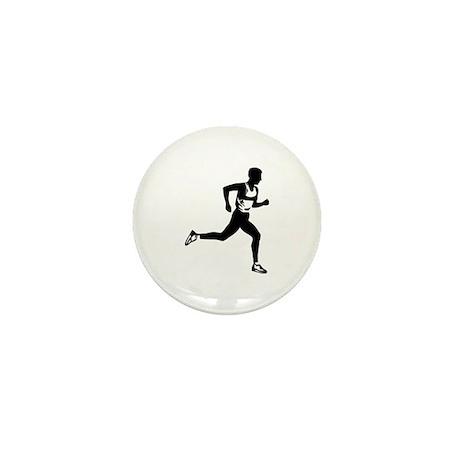 Running Mini Button (10 pack)