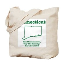 Connecticut, like massachuse Tote Bag
