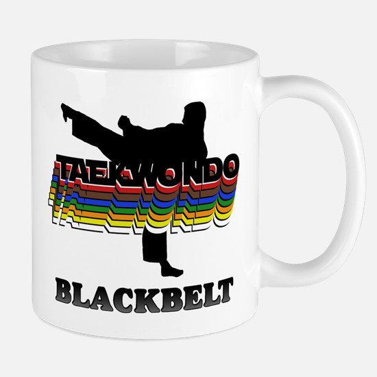 Taekwondo Black Belt Colors Mug