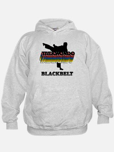 Taekwondo Black Belt Colors Hoodie