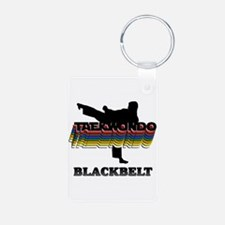 Taekwondo Black Belt Colors Keychains
