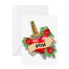 Son's Heart Greeting Card