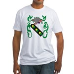 Acker Coat of Arms Fitted T-Shirt